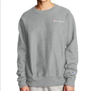 Champion Men's C-life Logo Sweatshirt
